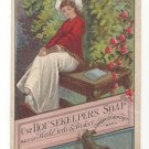 VictorianTrade Card Housekeepers Soap Cambridgeport MA Hale Teele Bisbee