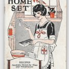 Vintage 1928 Booklet Taylor Intrument Co Home Set Thermometers Recipe Cookbook