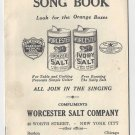 Worcester Salt Song Book dvertising Pamphlet All Join In The Singing