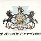 Pennsylvania State House of Representatives 1979 Souvenir Booklet Rybak 135th Dist PA