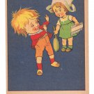 French Victorian Trade Card La Milanaise Shampoo Children Cures Lice and Dandruff