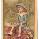 Victorian Trade Card Tinware Stoves Frank J Murphy Instalment House Baltimore MD Glitter