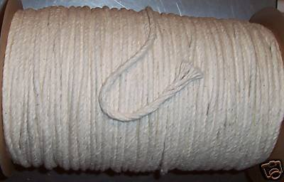 "50' 5/16"" Supreme Cotton rope bird toy parts craft  pets"