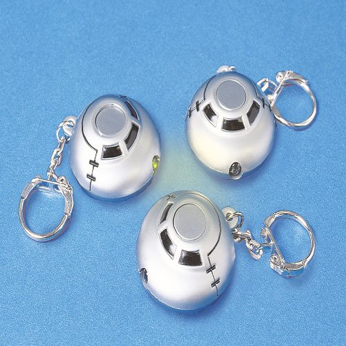 2 LIGHT UP SPACESHIP Keychains toys gifts prizes kids
