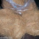 25 lbs COCONUT FIBER bird toy parts parrots bulk nests