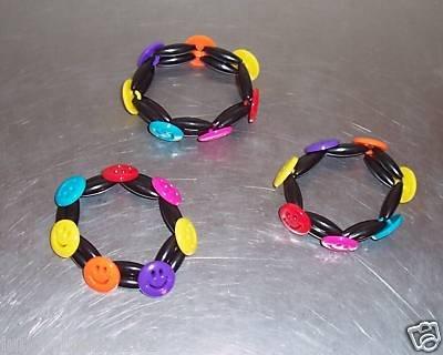 SMILEY FACE BRACELETS toys gifts prizes kids gifts