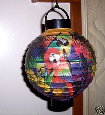 PARROT LIGHT UP LANTERN toys gifts prizes parties home