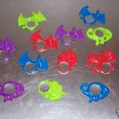 6 MAGNIFYING CREATURES toys 4 kids party favors prizes