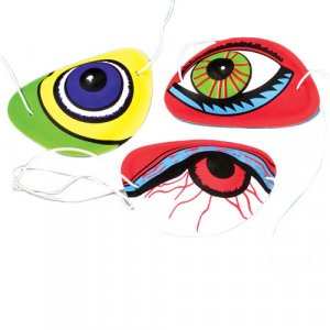 3 SILLY EYE PATCHES toys gifts prizes kids loot bags