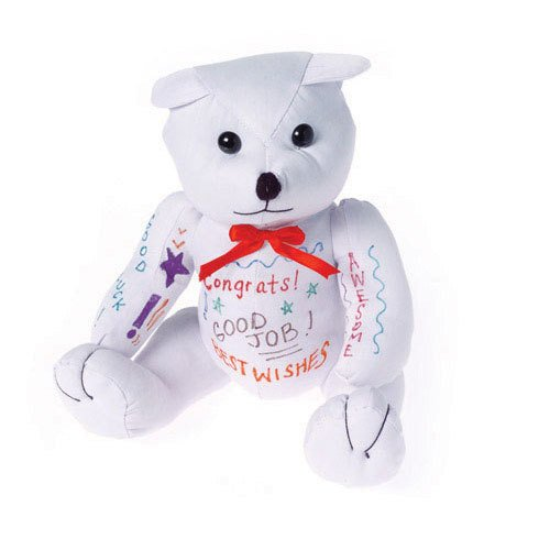 AUTOGRAPH BEAR toys gifts prizes parties graduation