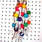 BEAD MUNCHER bird toy parts  parrots cages leather