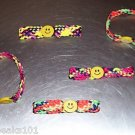 SMILEY FACE Braclets toys gifts prizes kids loot bags