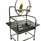 Metal Play Stand bird cages parrots toys amazons macaws