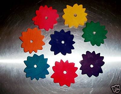 8 Large Colored Sunflowers bird toy parts parrots craft