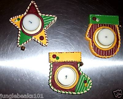 Christmas TEALIGHT HOLDERS toys decorations gifts prize