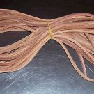 """28 Feet 1/8"""" Grooved Leather bird toy parts parrots"""