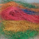 4oz Colored Coconut Fiber bird toy parts parrot nesting