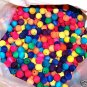 25 12mm Colored Beads bird toy parts parrots cages