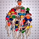 WHEEL OF FORTUNE bird toys  parrots cages parts perch