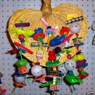 FAN-TASTIC bird toy parts parrots cages perches chew