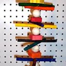 RAWHIDE MUNCHER bird toy parts 4 parrots cages perches
