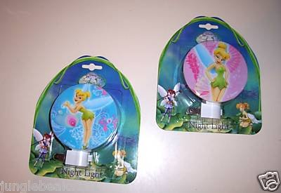 1 TINKERBELL NIGHT LIGHT toys gifts prizes kids favors