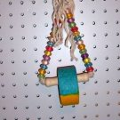 BEAD CRUNCH DELUXE bird toys calcium mineral treat cage
