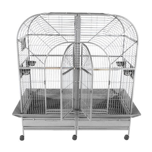 STAINLESS STEEL DOUBLE MACAW HIGH QUALITY bird cage