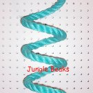 SKY BLUE MED Sisal Rope Boing bird toy parts parrots cages perches