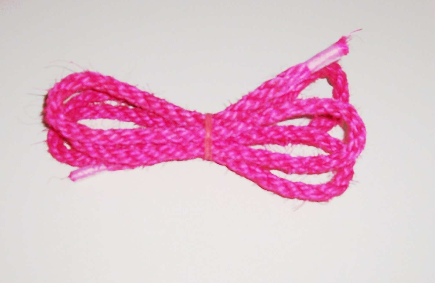 "3/8"" PINK SISAL Rope Unoiled bird toy parts 5' glider"