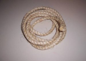 "1"" SISAL Rope Unoiled & Natural bird toy parts 2' pets"