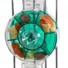 Large Acrylic Foraging Treat Wheel bird toy parrots