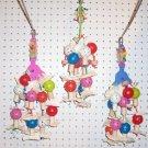 FINGER FUN bird toy parts parrots cages Amazon Greys eclectus