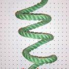 GREEN Sisal Rope Boing Swing bird toy perch LRG parrot