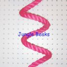 PINK Sisal Rope Boing Swing bird toy perch LRG parrot