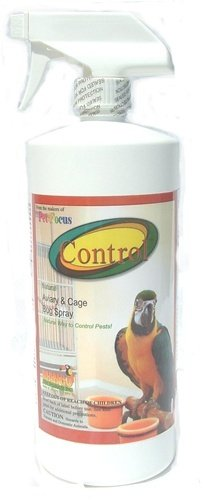 Control Natural Aviary & Cage Bug Spray parrots 32 ounce