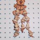 TEDDY bear bird toy parts parrots amazons tiels loris
