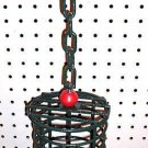 Ex-LRG Metal bird Treat/Toy holder parrot cages perches