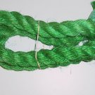 "1.5"" GREEN SISAL Rope Unoiled bird toy parts 4.5' monkey"