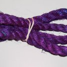 "3/4"" PURPLE SISAL Rope Unoiled bird toy parts 5' glider"