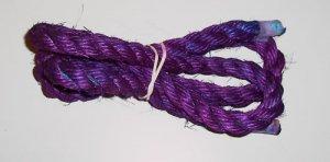 "3/4"" PURPLE SISAL Rope Unoiled bird toy parts 5' glider"