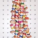 LEATHER DROP 2 bird toy parts parrots cages perch loris