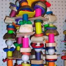 SISAL CLUSTER bird toy parts parrots macaws cockatoos