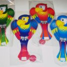 Parrot PADDLE BALL toy kids favor prize gift loot bag