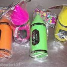 12 CRAYON BANKS toys kids party favors prizes game gift