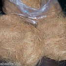 2 pounds COCONUT FIBER bird toy parts parrots nesting perches