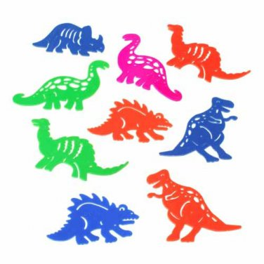 12 Prehistoric Creature Stencils toys gifts prizes kids arts crafts favors