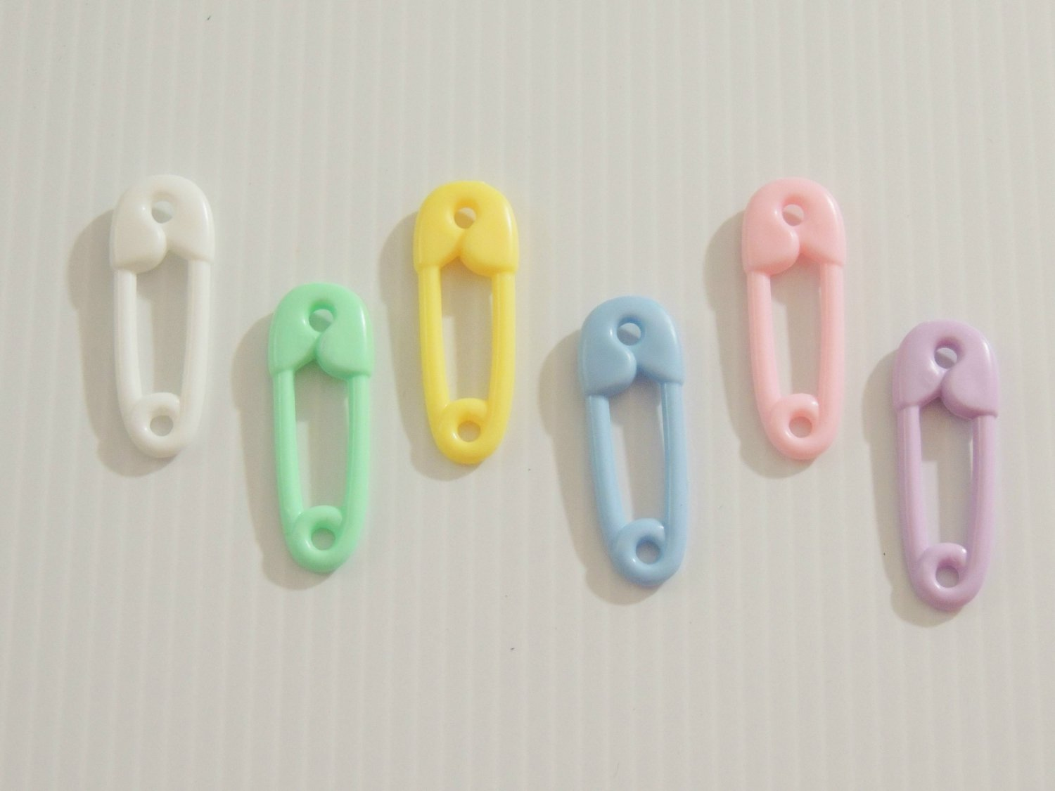 12 Large Solid Safety Pins