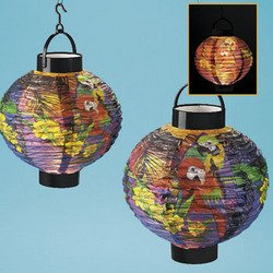 1 PARROT LIGHT UP LANTERN toys gifts parties home decore