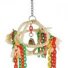 SISAL ORB SWING bird toy parrots cages tiels lovebird keet parrotlet